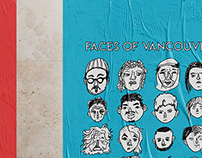 Faces of Vancouver // Poster Design