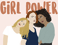GIRL POWER⎜Illustration