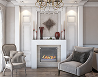 Transitional Apartment Interior Design