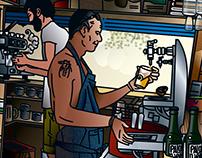 El Txiringo. Illustration.