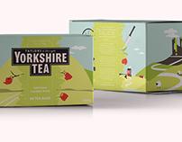 YCN: Yorkshire Tea Packaging Design