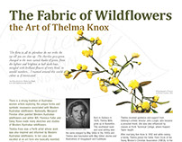 The Fabric of Wildflowers the Art of Thelma Knox