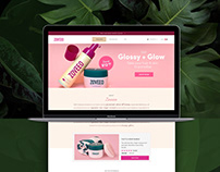 Zoveeo - Landing Page Design