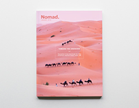Nomad. Magazine cover