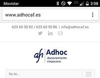 Adhoc Asesoramiento Financiero