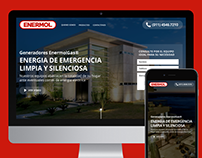 Enermol - Landing Page