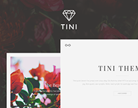 Tini - Elegant Tumblr Theme