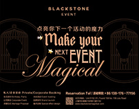 Posters for Blackstone Event