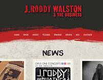 J Roddy Walston & The Business Website Design