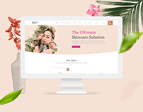 Skincare Ecommerce Site