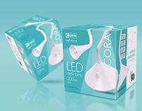 Lamp Packaging Design for EMOS
