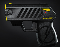 Taser Pulse (Commercial Photography)