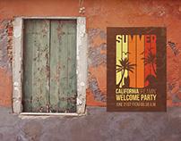 Poster Mockup in Venecia