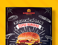 Poster project for fast food restaurant