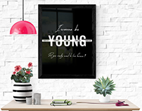 "Brand packaging ""Forever young"""