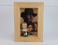 Corinthian football figures framed