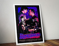The Outrunners Movie Poster Design