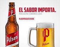 La birra que si sabe.