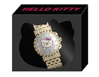 Hello Kitty Watch and Packaging Design