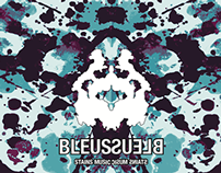 Blues CD cover with Rorschach theme