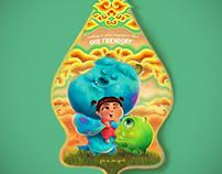 Monster Inc Fan Art - Pixar Inspired Poster Contest