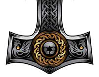 Nordic Iron and Metals Branding