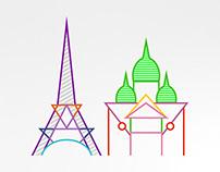 Paris  50x70