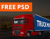 Truck Mockup FREE