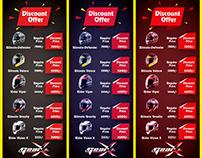 X Banner Design