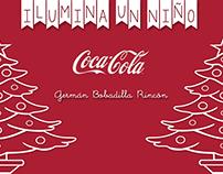 Coca Cola  Ilumina un niño