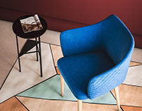 Glen Armchair I Moe's Home Collection I FREE model