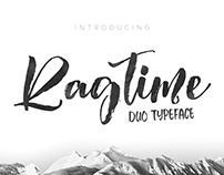 Ragtime Duo Typeface