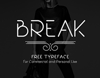 Break | Free Font