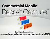 "Mitek ""Commercial  Mobile Deposit Capture"""
