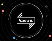 Known Creative - 2017 Work Reel
