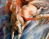 Aquarelles de Stephan Swolfs