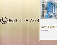 CALL 0853 4149 7774, Kos Eksklusif di Kampus Fajar