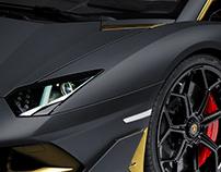 2018 Lamborghini Aventador SVJ Nero Oro