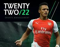 TWENTYTWO/22  - Sport Managment