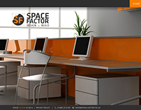 Space Factor Website Redesigned