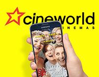 Cineworld Snapchat filter