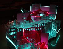 Cubed design festival model for Artplay