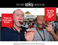 2017 World Am golf Tournament concepts