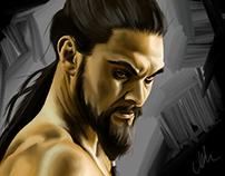 Portrait Khal Drogo