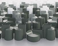 Dash vases by SVOYA studio