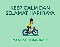 KEEP CALM DAN SELAMAT HARI RAYA