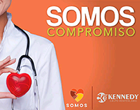 Campaña SOMOS Grupo Hospitalario Kennedy