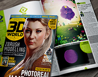 3D World Magazine - Q&A - (Issue 195) - 2015