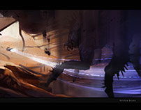 Environment - dangerous cave