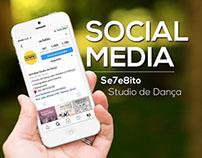 SOCIAL MEDIA - Se7e8ito Studio de Dança